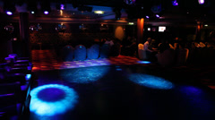 At the Disco nightclub Stock Footage