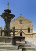 Greece, Rhodes, Church of the Annunciation Stock Photos