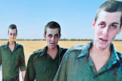 israel marks 5 years since soldiers abduction - stock photo