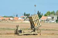 Stock Photo of israeli anti-missile system - iron dome