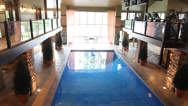 Stock Video Footage of Indoor Pool