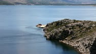 Stock Video Footage of Panoramic shot of the adriatic coast