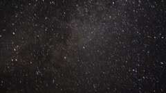 4K Perseid Meteor Shower Milky Way 04 Time Lapse Sierra Nevada Mts USA Stock Footage