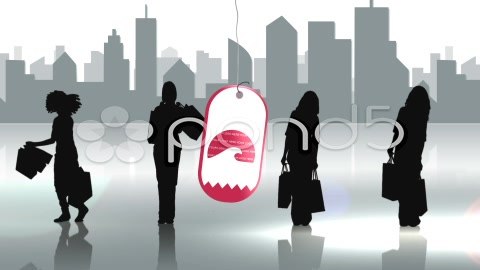 After Effects Project - Pond5 Shopping City Silhouettes AE Version 5 278187 ...