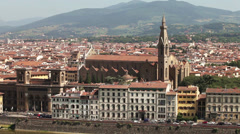 Pazzi Chapel. Florence, Italy Stock Footage