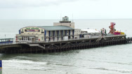 Stock Video Footage of bournemouth pier