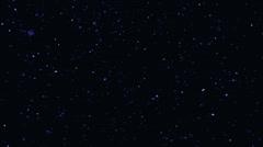 Night Sky Stars Sphere Loop Stock Footage