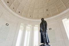 Stock Photo of Interior of Jefferson Memorial