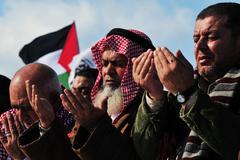 Palestinian arab people in israel Stock Photos