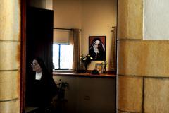 Mount of beatitudes - israel Stock Photos