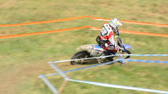 European enduro championship 2013 Stock Footage