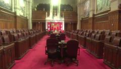Canadian parliament Stock Footage