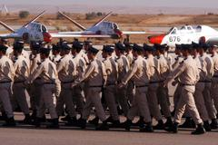 Graduated israeli air force pilots Stock Photos