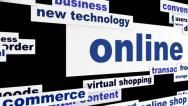 Stock Video Footage of Online commerce business hd animation