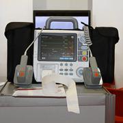 Defibrillaattori ja monitorin Kuvituskuvat