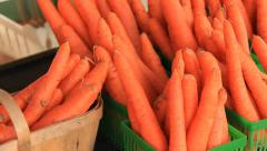 Carrots 1 - stock footage