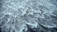 Torrential waterfall & spindrift. Stock Footage
