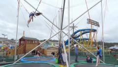 Amusement Park 1 Stock Footage