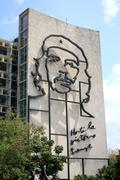 Stock Photo of Che Guevara in Havana, Cuba