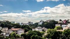 Timelapse. Santa Teresa / Rio de Janeiro Stock Footage