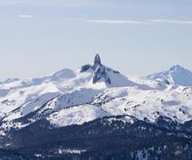 Black tusk mountain Stock Photos