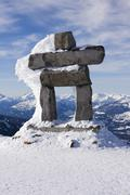 whistler inuk'shuk - stock photo