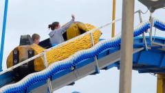 Amusement Park 3 Stock Footage