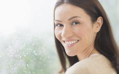 Stock Photo of Portrait of mid adult woman