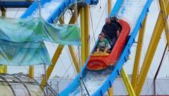 Amusement Park 4 - stock footage