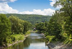 Ottauquechee River Stock Photos