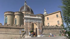 Italy - Marche - Loreto Stock Footage
