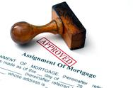 Stock Photo of assignment of mortgage