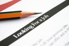 Looking for a job Stock Photos