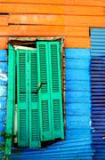 Colorful Slum Stock Photos
