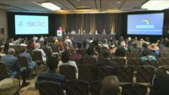 SCLC Conference Stock Footage