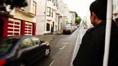 Cable Car San Francisco slow motion - Full HD Stock Footage