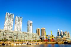 Buenos Aires Waterfront Stock Photos