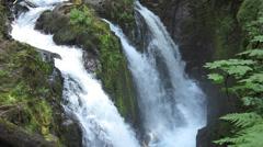 Sol Duc Falls - stock footage