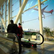 Guangzhou lentokenttä Kuvituskuvat