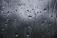 Water drop on glass Stock Photos