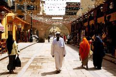 aswan egypt - stock photo