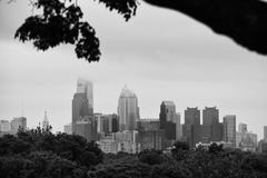 View of Philly Stock Photos