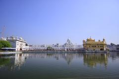 Complex of the Golden Temple - stock photo