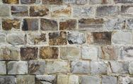Stock Photo of stone wall detail