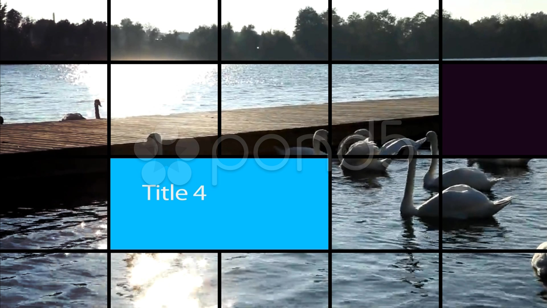 After Effects Project - Pond5 Shuffling Tiles 27850561