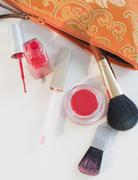 Stock Photo of A make up bag with assorted make up