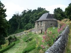 stone building - stock photo