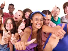 Stock Photo of group people