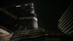 Burj Khalifa Stock Footage