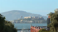 Stock Video Footage of Alcatraz Island from San Francisco